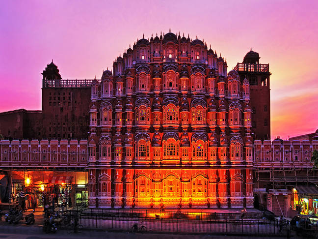 The Palace of Winds – Hawa Mahal